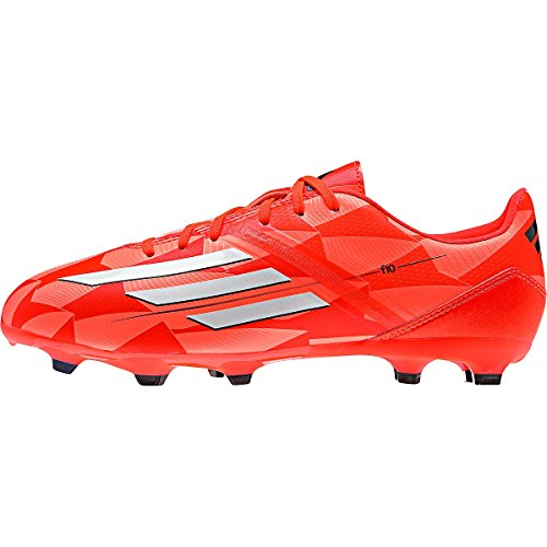 Adidas F10 TRX FG Women s Soccer Cleat (Solar Red) (8 US Women ... 97c5de0d6a3c