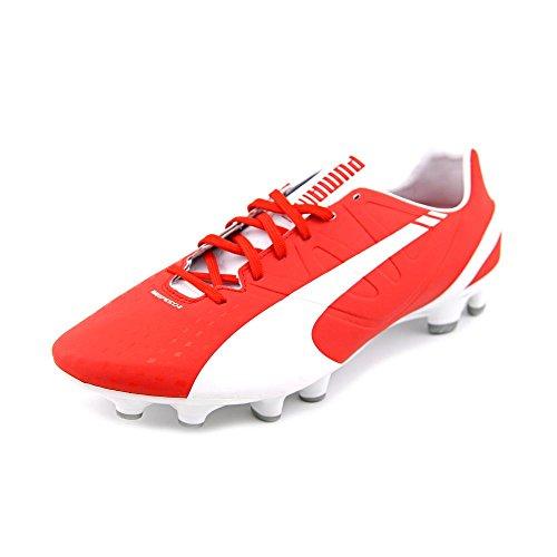 s evospeed 2 3 firm ground soccer shoe white high