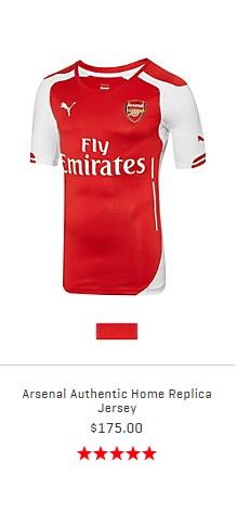 ArsenalAuthenticJersey