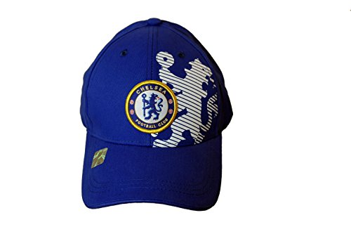 286585d3d8d Chelsea FC London Soccer Football Club Futbol Sun Buckle Hat Cap Two ...