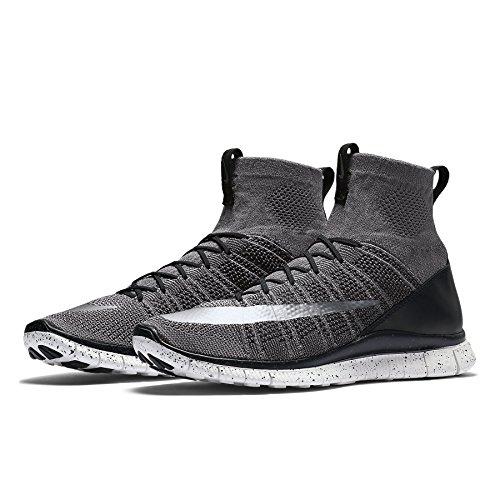 80f262484 Nike Free Flyknit Mercurial CR7 805554-004 Grey Black White Silver Men s  Shoes (size 9).  169.99