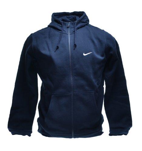 Nike club swoosh full zip hoodie