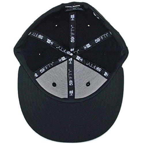 4d836868ff New Era 59Fifty Hat Tijuana Xolos TJ Caliente Soccer Mexican League Black  Cap (7 3 8)